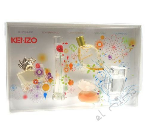 Kenzo Mini Set 21, 5ml Edp kazeta W