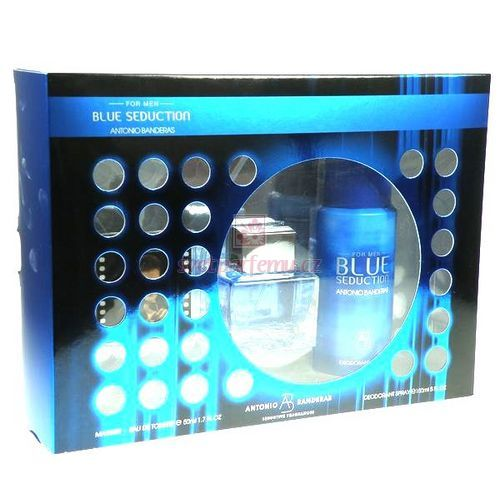 Antonio Banderas Blue Seduction Edt 50ml kazeta M