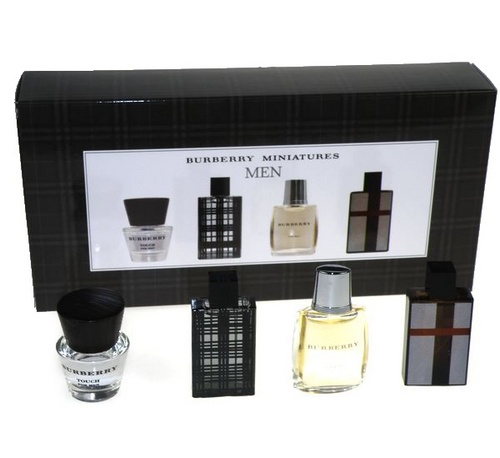 Burberry Mini Set 4x Edt 5ml kazeta M