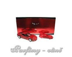 Corvette Red Edt 50ml + model auta Chevrolet Corvette C6 2005