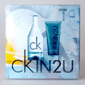 Calvin Klein In2U for Him - dárková sada EdT 100 ml