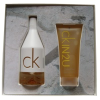 Calvin Klein In2U for Her - dárková sada EdT 100 ml + SG 100 ml