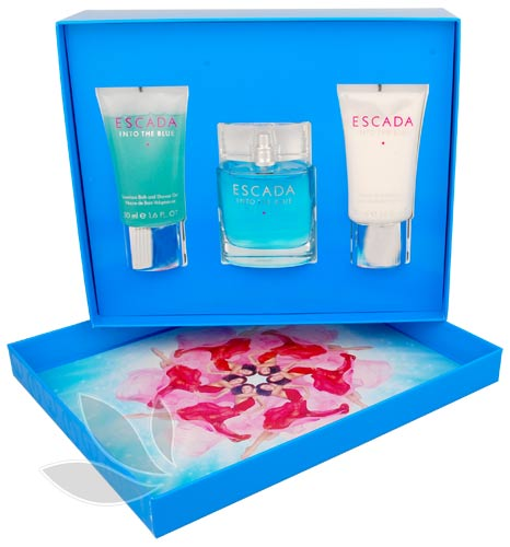 Escada Into the Blue - dárková sada EdP 50 ml